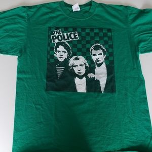 🚨 2/$10 The Police t-shirt